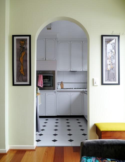 арка-классической-кухни-вместо-двери