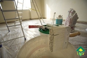 Покраска стен кухни: как правильно покрасить кухню
