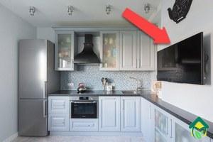 Телевизор на кухне — выбор места для размещения телевизора