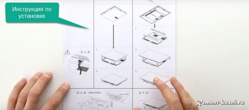инструкция подключения и установки панели
