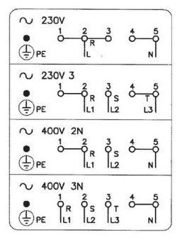 4 схемы подключения плиты