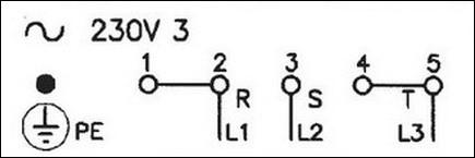 схема 220 В три фазы