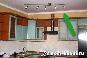 потолочный плинтус для кухни