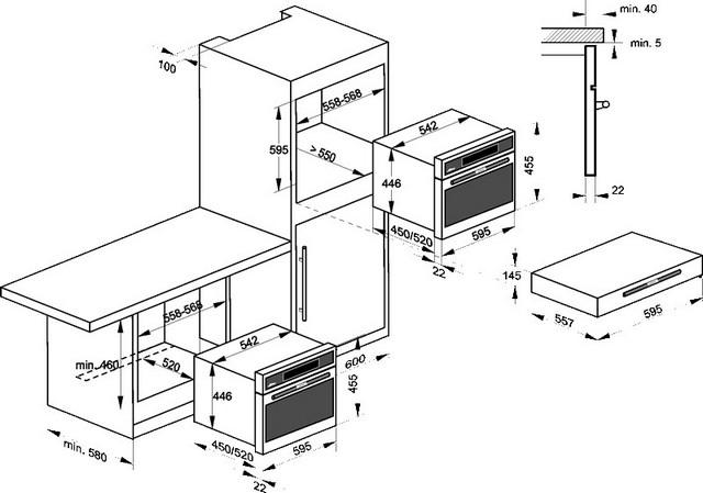 духовка с микроволновой решеткой