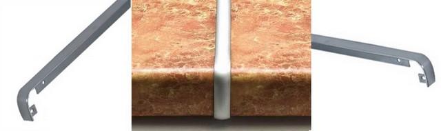 металлические соединители для столешниц