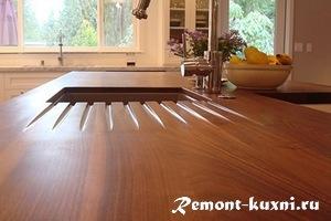 Столешницы из массива: выбор материала, особенности производства, дизайн