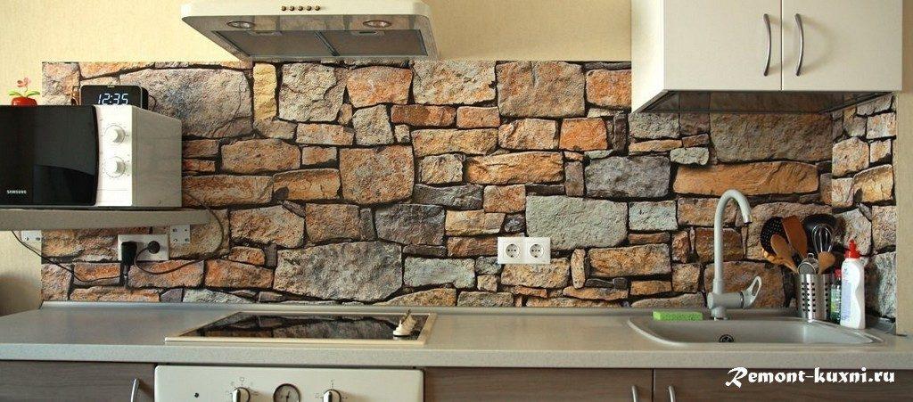 декоративный камень со швом