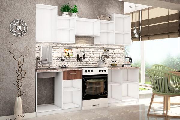 пример кухни остов шкафов