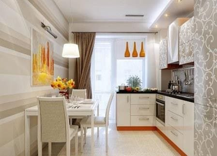 Эргономику узкой кухни
