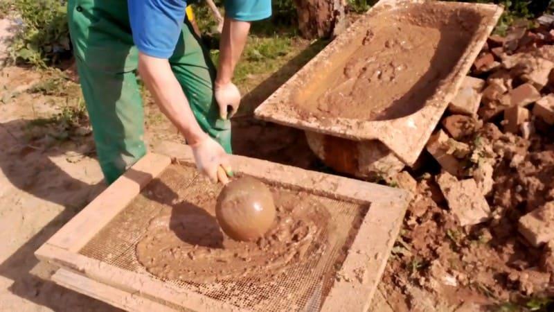 цементный раствор для барбекю