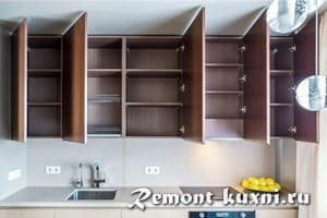 Из чего делают кухонную мебель