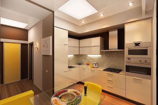 ремонт квартиры на кухне