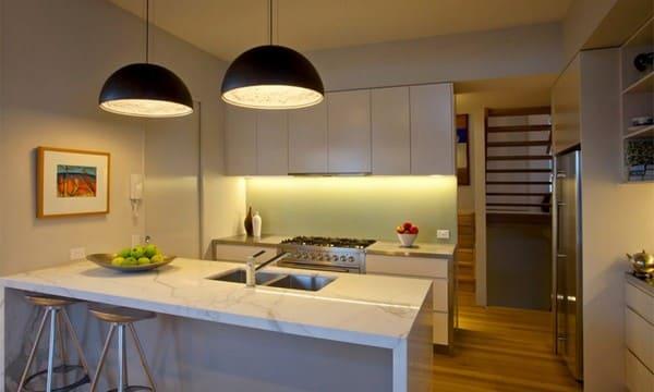 потолочный свет кухни
