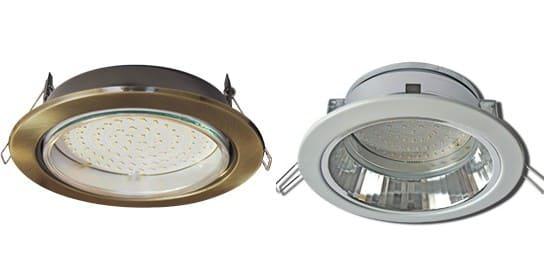 светильники для натяжного потолка ecola