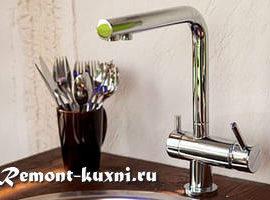 4 типа смесителей воды для кухни