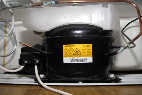 основная деталь холодильника его компрессор
