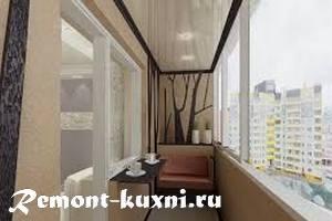 Натяжной потолок в маленьких комнатах, балконе, ванной