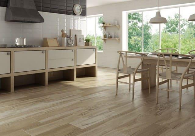 Как выбрать плитку на пол кухни