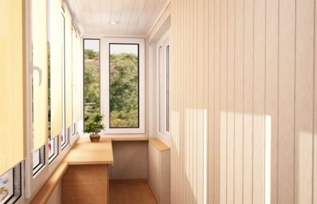 Внешняя отделка балконов и лоджий