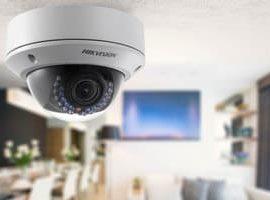 Купольная камера видеонаблюденияна улице и в помещении