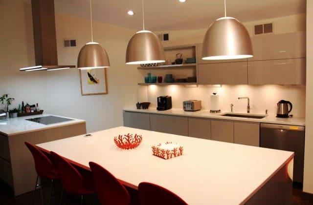 освещение большой кухни
