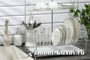 Какие бывают сушилки для посуды