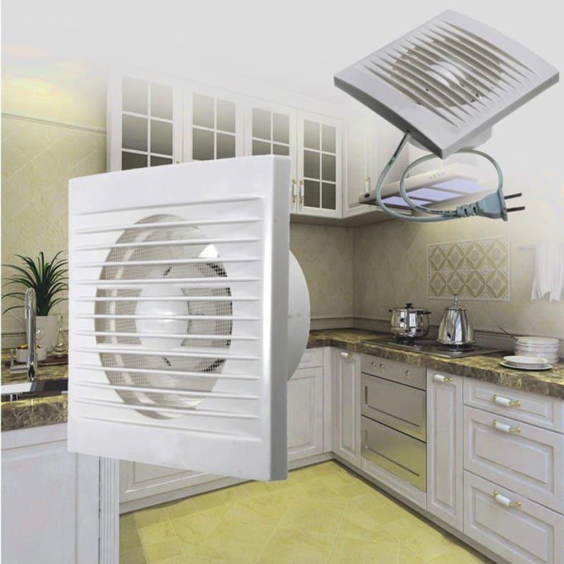 Бытовой вытяжной вентилятор