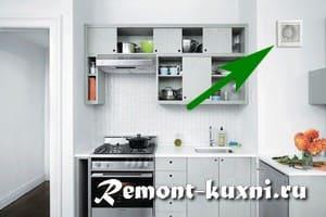 Бытовой вытяжной вентилятор для кухни