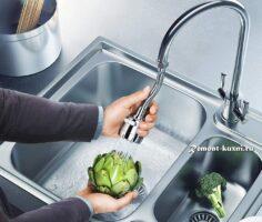 Как выбрать смеситель для кухни с регулируемым изливом
