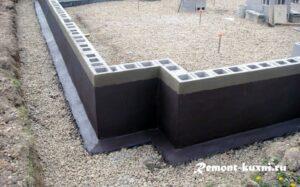 Варианты гидроизоляции бетонных конструкций