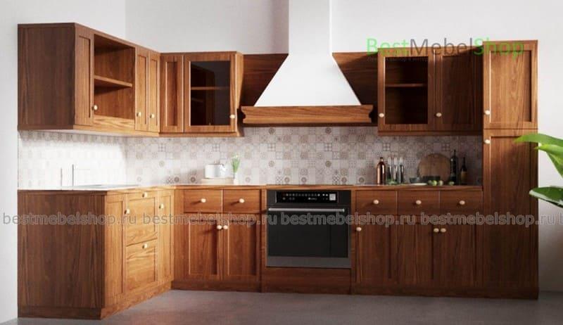 Корпусная кухонная мебель фабрики Бест-Мебель