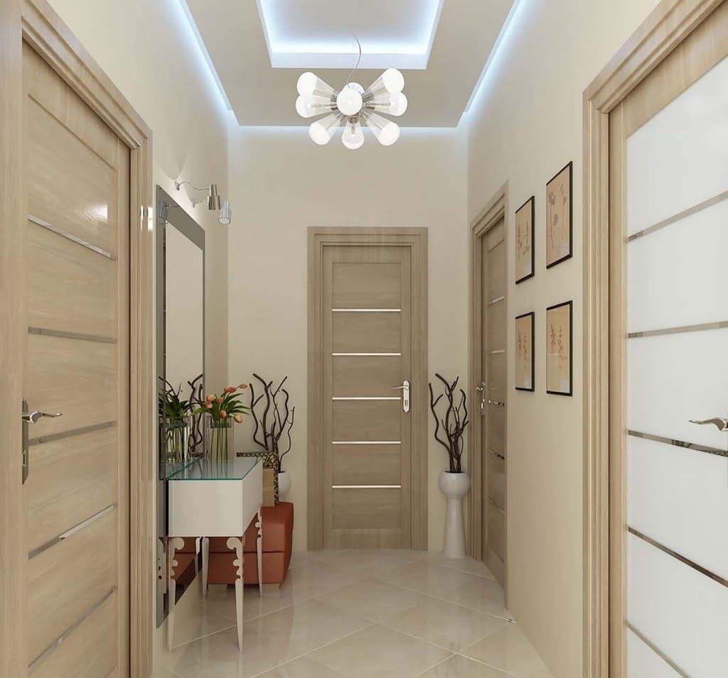 дверь на кухню в общем стиле квартиры