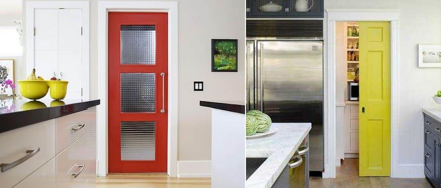 особый дизайн кухнонной двери