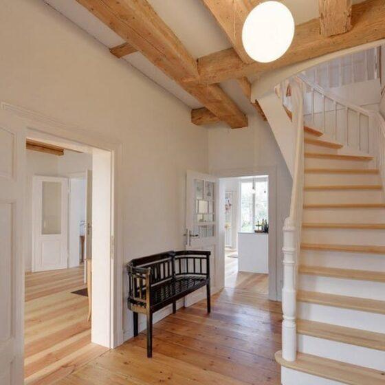 варианты отделки лестницы в частном доме