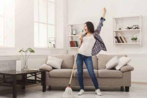 Особенности качественной уборки коттеджа