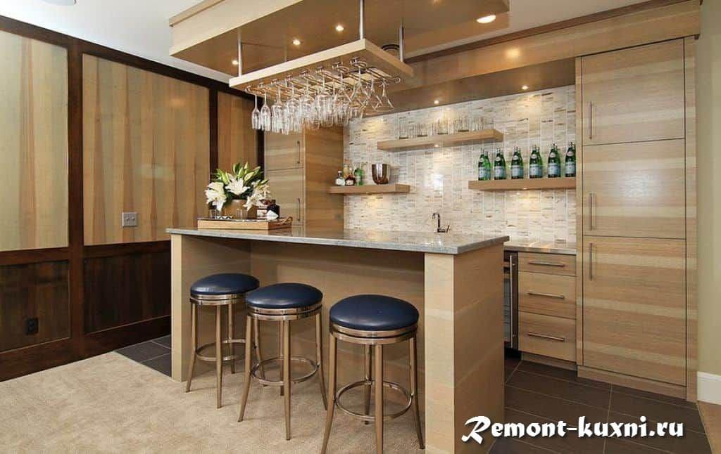Зачем вам нужна барная стойка в квартире