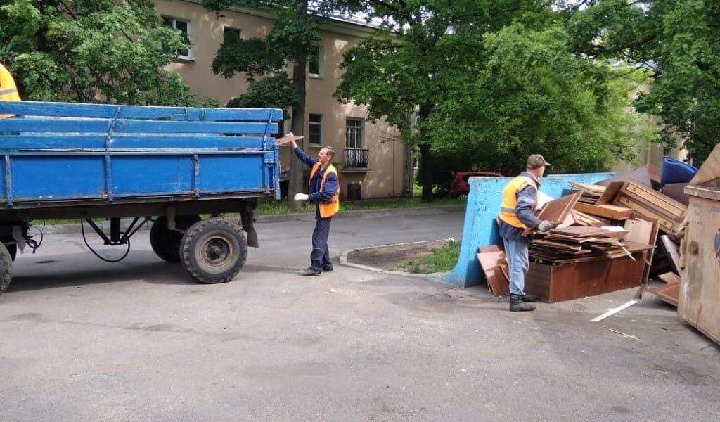 вывоз крупного мусора