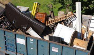 Проблемы вывоза крупногабаритного мусора